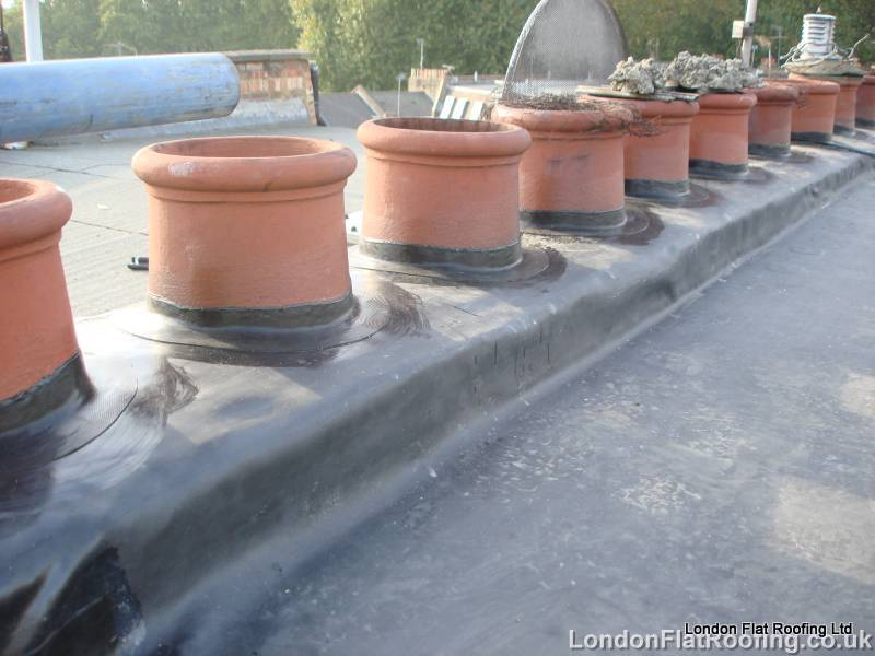 waterdamageEPDM Rubber and liquid Flat Roofs
