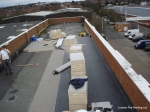EPDM rubber going down over new king-span insulation