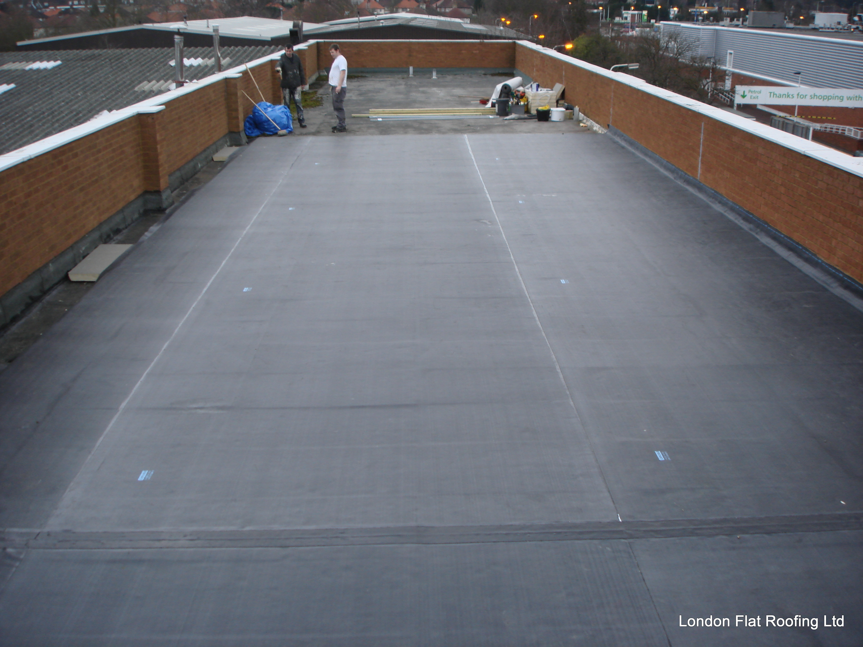 Epdm Rubber W8 Kensington 171 Epdm Rubber And Liquid Flat Roofs