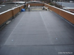 EPDN rubber roof over Kingspan Insulation