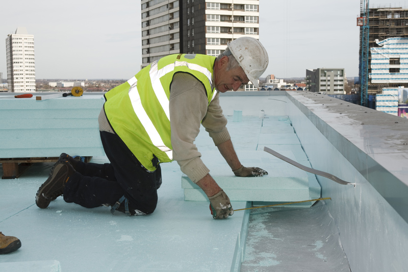 Upside Down Roof Or Inverted Flat Roof 171 Epdm Rubber And