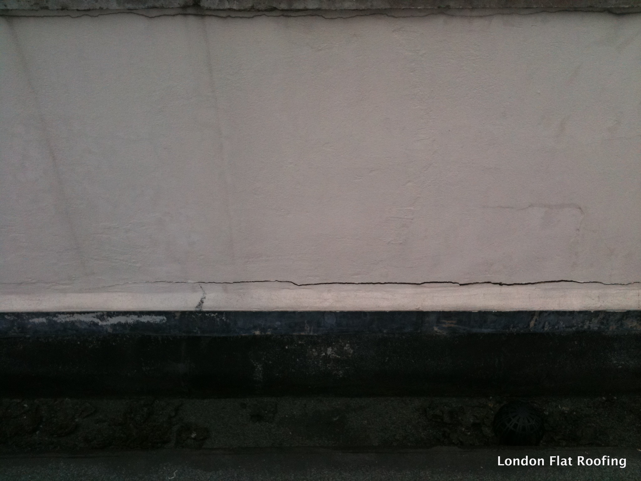 Leaking Parapet Walls 171 Epdm Rubber And Liquid Flat Roofs