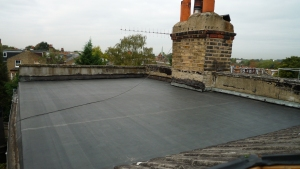 New EPDM with now flashings