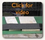 New liquid rubber epdm roof