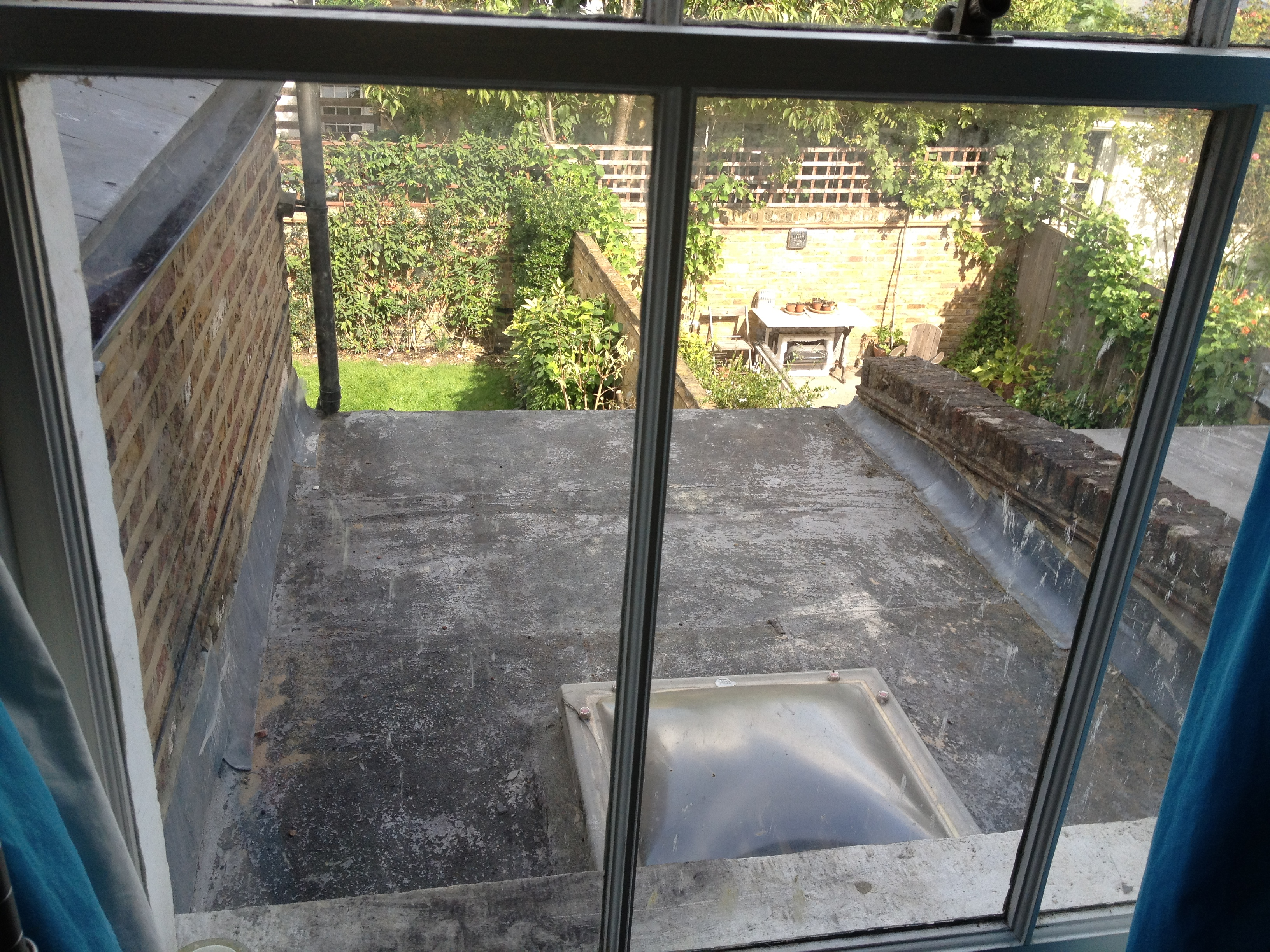 New flat roof estimate using the 3m scotchkote liquid roofing flat roof sd 650 sdr 650 sciox Gallery