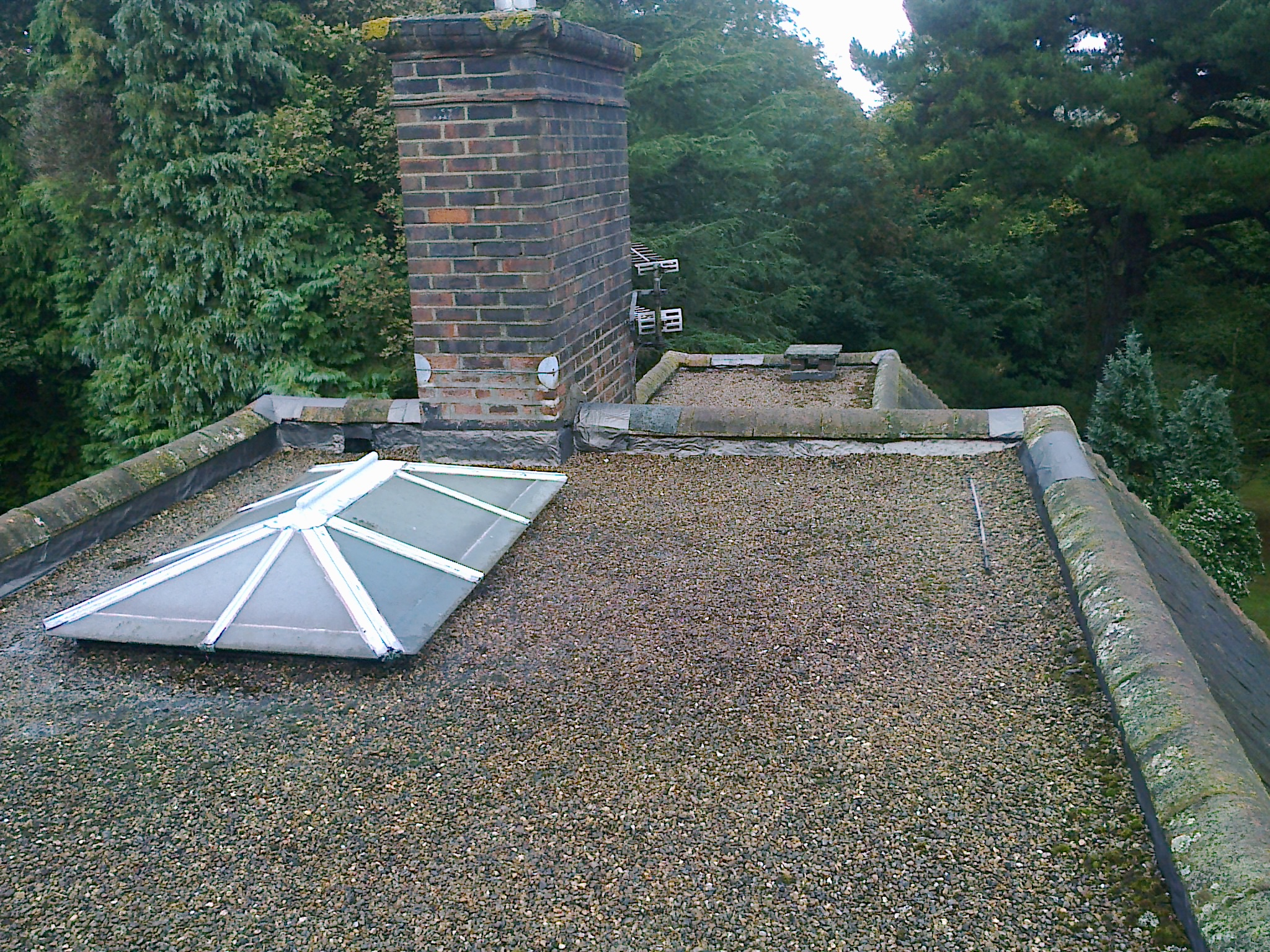Cold Flat Roof 171 Epdm Rubber And Liquid Flat Roofs