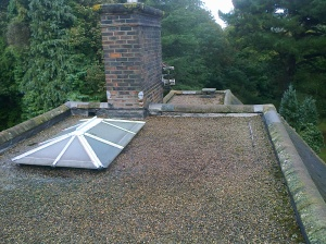 We want to place a new EPDM roof over this